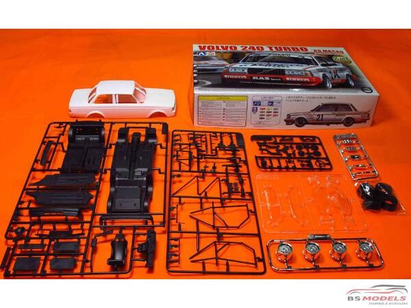 BEE24012 Volvo 240 Turbo Macau GP Guia winner 1986 Plastic Kit