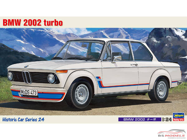 HAS21124 BMW 2002 Turbo Plastic Kit