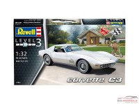 REV07684 Corvette C3 Plastic Kit