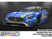 ZP1481 Mercedes AMG GT3 Team Black Falcon Blue  60 ml Paint Material