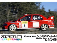 ZP1486 Mitsubishi Lancer Evo VI  WRC Passion Red  60 ml Paint Material