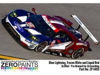 ZP1493 Ford GT 2018 - Paint set 3 x30 ml Paint Material
