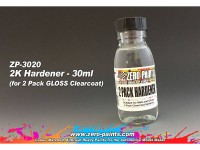 ZP3020 Spare Hardener for Gloss clearcoat set ZP-3006  30 ml Paint Material