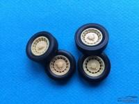 24R5ALPT 4 rims + tyres R5 Alpine Turbo Resin Accessoires