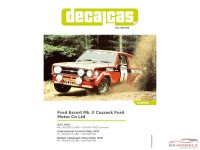 DCLDEC008 Ford Escort Mk II Cossack Ford Motor Co Ltd #1#6  RAC