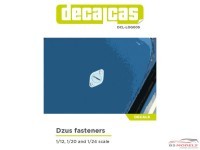 DCLLOG005 Dzus fasteners all scale decals Waterslide decal Decal