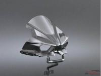 DCLVAC011 Vacuum Formed visor for Kawasaki Ninja H2R (TAM14131) Multimedia Accessoires
