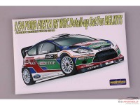 HD020218 Ford Fiesta RS WRC detail set (For Belkits) Etched metal Accessoires