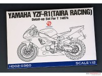 HD020360 Yamaha YZR-R1 (Taira Racing)  detail set  (For TAM) Multimedia Accessoires