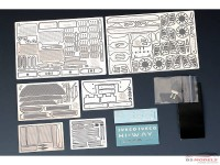 HD020362 Iveco Stralis HI-WAY Euro5 detail set (For ITA 3899) Multimedia Accessoires