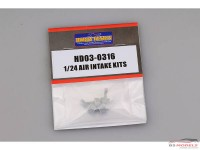 HD030316 Air intake kits 1/24 Resin Accessoires