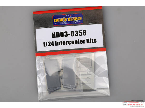HD030358 Intercooler kits 1/24  (resin + PE) Multimedia Accessoires