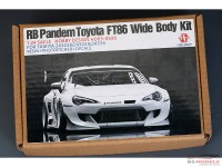 HD030508 Rocket Bunny FT86 V3 wide body transkit for Tamiya Multimedia Transkit