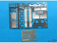 TK24446 Opel Manta 400  detail PE set (for Belkits) Etched metal Transkit