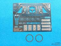 TK24451 BMW 2002 Tii / Turbo  detail PE set Etched metal Transkit