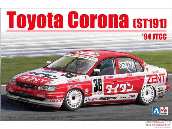 BEE24013 Toyota Corona (ST191)  1994 JTCC Plastic Kit