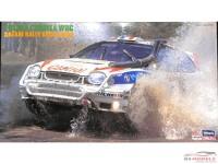 "HAS25090 Toyota Corolla WRC  ""Castrol"" Safari rally Kenya 1998  Sainz / Auriol Plastic Kit"