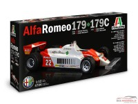 ITA4704 Alfa Romeo 179 - 179 c   version 1979-1980-1981 Plastic Kit