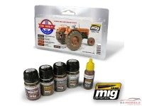 AMIG7145 Civil Vehicles Weathering set Paint Material
