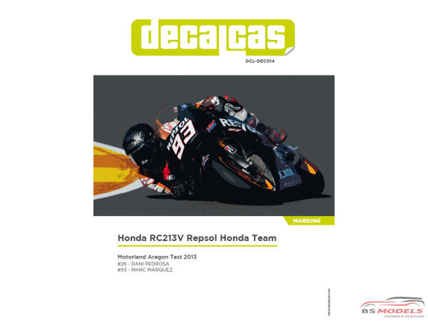 DCLDEC014 Honda RC213V  Repsol Honda Team #26