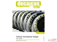 DCLLOG006 Goodyear  Eagle tyre marking set decal Waterslide decal Decal