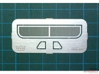 HME034 Sun Visor for Tamiya Beetle Etched metal Accessoires