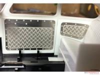 HME039 Aluminium rearpanels Etched metal Accessoires
