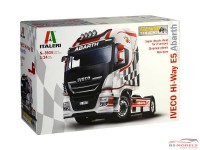 "ITA3934 Iveco E5 HI-WAY   ""Abarth"" Plastic Kit"