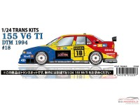 STU27TK2469 Alfa 155 V6 TI #18 DTM 1994  Transkit Multimedia Transkit