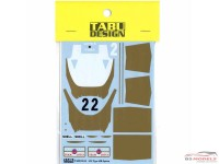 TABU20150 Lotus Type 49B option decal Waterslide decal Decal