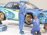 TAM24266 Tamiya Rally Mechanics figures set Plastic Kit