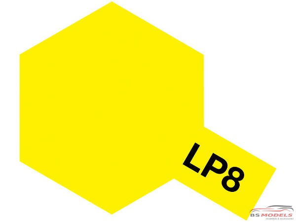 TAM82108 Tamiya LP 8  PUR Yellow Lacquer Paint 10 ml Paint Material