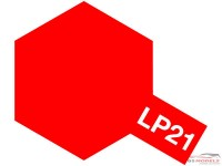 TAM82121 Tamiya LP 21 Italian Red Lacquer Paint 10 ml Paint Material
