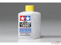 TAM87077 Tamiya Lacquer Thinner 250 ml Paint Material