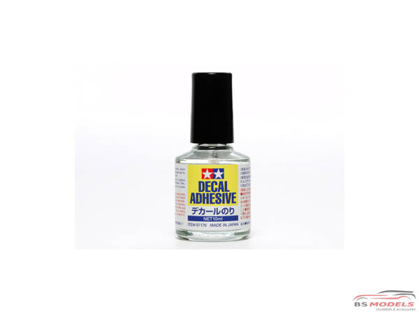 TAM87176 Tamiya Decal Adhesive 10ml Softening solution Material
