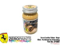 "ZP1007-5 Ferrari Leather colour ""Beige""  60ml Paint Material"