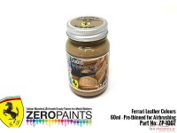 "ZP1007-7 Ferrari Leather colour ""Cuoio""  60ml Paint Material"