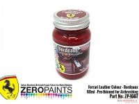 "ZP1007-8 Ferrari Leather colour ""Bordeaux""  60ml Paint Material"