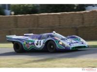ZP1019 Porsche 917 Purple Hippie (Psychedelic Martini racing team) paint 60ml Paint Material