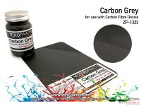 ZP1323 Carbon Fibre Grey paint 60ml Paint Material