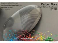 ZP1323 Carbon Fibre Grey paint 60ml Paint Material