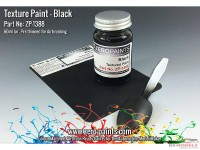 ZP1388 Black Textured paint 60ml (engines