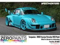 ZP1425 RWB Rauh Passion Porsche 993 Turquoise paint 60ml Paint Material
