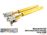 ZP1432 Motorcycle Fork Gold paint 15ml Paint Material