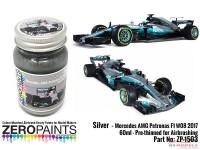 ZP1503 Mercedes AMG Petronas F1 W08 2017 silver paint 60ml Paint Material