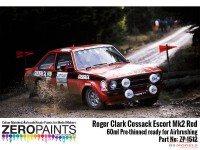 ZP1512 Roger Clark Cossack Escort MK2 Red paint 60ml Paint Material