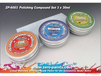 ZP6003 Polishing Compound set (3 grades + cloth) Multimedia Material