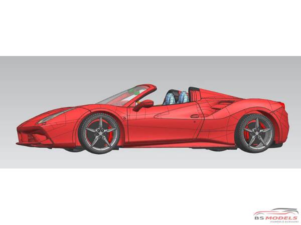 AM020003 Ferrari 488 Spyder Multimedia Kit