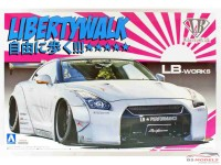 AOS054031 Nissan LB Works R35 GT-R  vers 2  *LibertyWalk* Plastic Kit