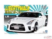 AOS055908 Nissan LB Works R35 GT-R  vers 1.5  *LibertyWalk* Plastic Kit